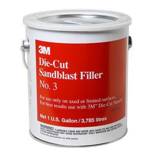 3M #3 Sandblast Filler Gallon