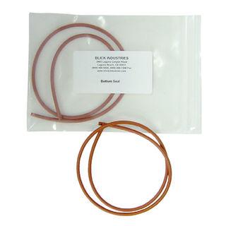 Blick Suction Cup 150mm Concave Corner, Orange Bottom Seal