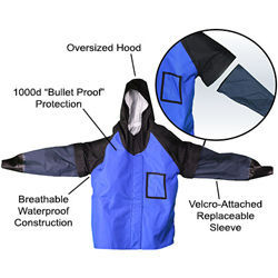 Fabricator's Friend Fab Coat Jacket Replacement Sleeves, Large