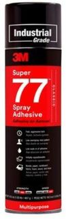 3M SUPER 77 SPRAY ADHESIVE 18 OZ. AEROSOL