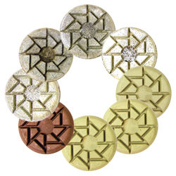"3"" Surface Pro Gold ICE Polishing Pads"