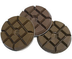 "3"" Surface Pro Semi-Metal Wet Polishing Pads"