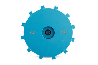 Blue Premium O30 Segmented Position 0 Grinding Wheel