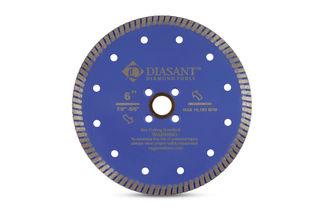 "Zenith Turbo Diamond Dry Granite Blade, 6"""