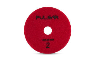 """Pulsar 3 Step Wet Pad for Quartz & Granite, 4"""" Pos. 2"""