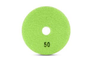 "Tiger Superflex Diamond Wet Polishing Pad 4"" 50 grit"