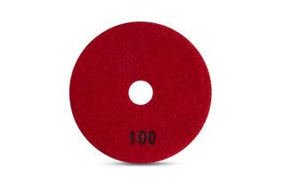 "Tiger Superflex Diamond Wet Polishing Pad 4"" 100 Grit"