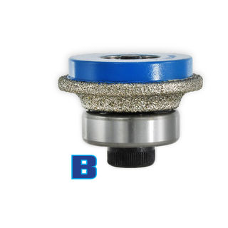 B - Platted Router Bits - Ghines Connection - Bottom Bearing