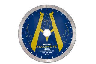 "Diarex Machete Bridge Saw Blade 16"" 25mm Segments 50/60mm"