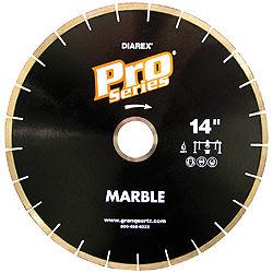 Pro Series Marble Bridge Saw Blades, 7mm Segment, 50/60 Arbor