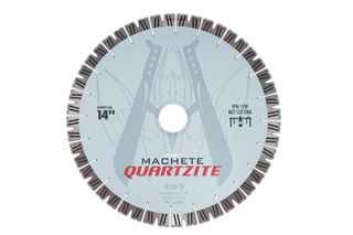 Diarex Machete Quartzite Bridge Saw Blade 14