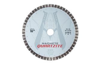 "Diarex Machete Quartzite Bridge Saw Blade 16"" 25mm Segments 50/60mm"