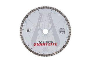 "Diarex Machete Quartzite Bridge Saw Blade 18"" 25mm Segments 50/60mm"