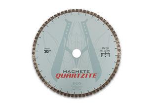 "Diarex Machete Quartzite Bridge Saw Blade 20"" 25mm Segments 50/60mm"