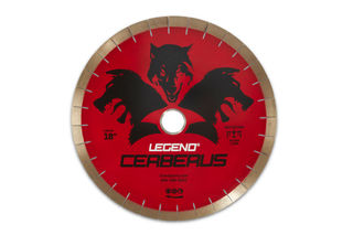 "Legend Bridge Saw Blade 18"" 25mm Segments 50/60mm"