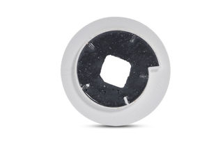 Abressa Flat Edge Brick 130mm 220 Grit Chamfer Gray