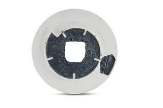 Abressa Flat Edge Brick 150 mm 400 Grit Chamfer Blue