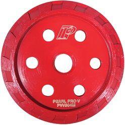 """PEARL P2 PRO-V 4"""" X 5/8""""-11  ARBOR TURBO CRACK CHASER"""