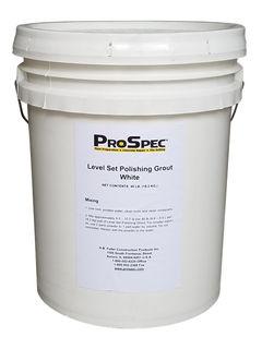 Tec Polishing Grout White 40Lb Pail