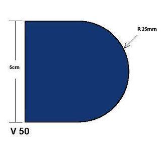 Blue Premium V50 Professional Position 2 Router Bit L5