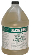 K&E Klenztone #1 Cleaner for Concrete, Limestone & Sandstone, Gallon