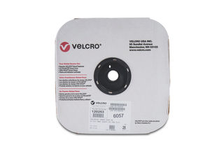 """VELCRO ROLL 4"""" X 75' (25YD)  HOOK SIDE ONLY - 0113 ADHESIVE"""