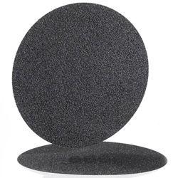 "Hermes Silicon Carbide Plain Backed Sandpaper 7"" 320 Grit"