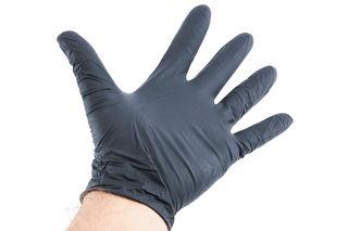 Black Nitrile Gloves 3.5mil Powder Free Large 100 Per Box