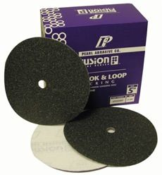 """5"""" Pearl Fusion Silicon Carbide QRS Sandpaper Discs"""