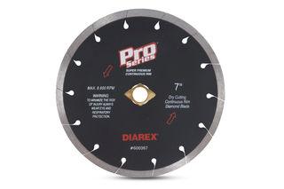 """Diarex Pro Series Continuous Rim Blade 7"""" 5/8""""-DKO-7/8"""""""