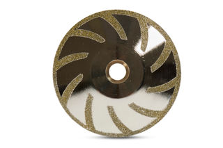 """Cyclone Electroplated Contour Blade 5"""""""