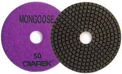 """Diarex Mongoose Resin Polishing Disc 5"""", 1500 Grit, Orange"""