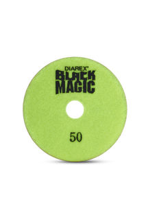 "Black Magic Wet Polishing Pad 4"" 50 Grit"
