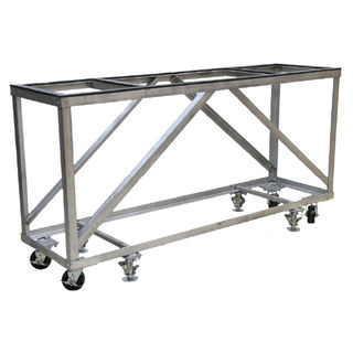 Groves Fab Table With Casters HDT84M