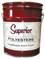 Superior Knife Grade Polyester Adhesive