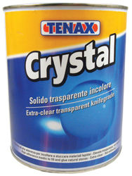 Tenax Crystal Water Clear Polyester Knife Grade, 1Liter