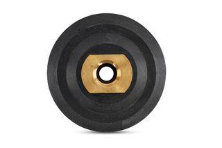 "Economy Rubber Back-up Pad BP3F 3"" Black"