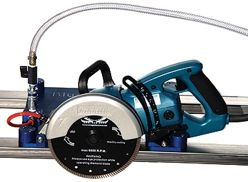 "Omega Blue Ripper Jr Saw With 92"" and 148"" Rails 125V 13A"