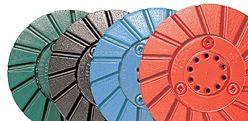 "Abrasive Technology 5-Step System 4"" Blue Metal 100 Grit Snail Lock"