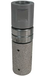 """Vacuum Braze Drum Wheel With Top Bearing DMB1040A 1"""", 40 Grit"""
