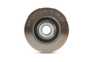 """Vacuum Braze Drum Wheel With Top Bearing DMB3040A 3""""x 2"""", 40 Grit"""