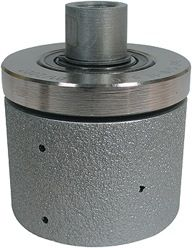 "Vacuum Braze Drum Wheel With Top Bearing DMB2040 2"" x 2"", 40 Grit"