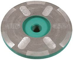 """Pearl P4 Dry Shaper Resin Filled Cup Wheels 4"""", 5/8""""-11"""