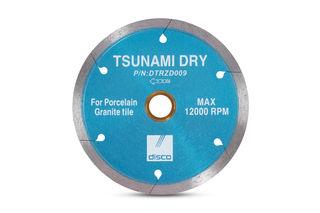 "Tsunami Dry Continuous Rim Blade 5"" DTRZD009"