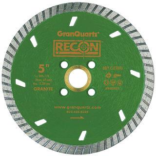 "Recon Turbo Blade 6"" 5/8""-20mm-7/8"" 4 Holes"