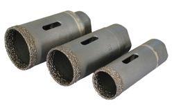 "Vacuum Brazed Gen. Purpose Dry Core Bits, 5/8""-11F"