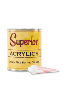 Superior Acrylic Quick Set Knife Grade, Quart