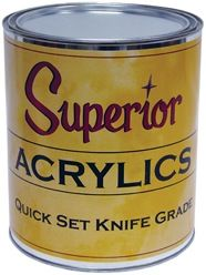 Superior Acrylic Quick Set Knife Grade Adhesive
