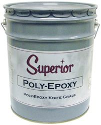 Superior Poly-Epoxy Knife Grade Adhesive