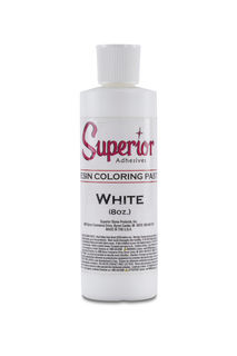 Superior White Color Paste, 8 oz Bottle